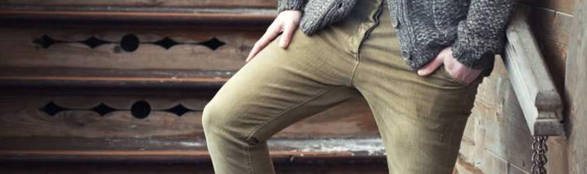 pantalon carrot pour homme